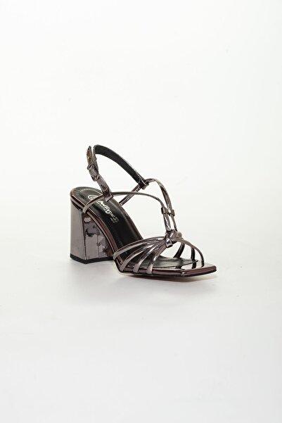 derithy -klasik Topuklu Ayakkabı-platin