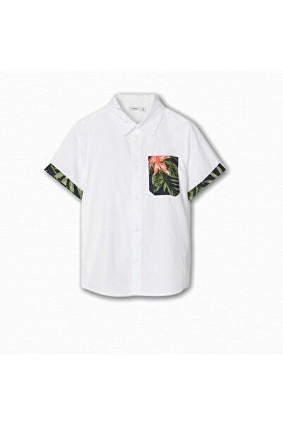 name ıt Name It  Erkek Çocuk Floral Desenli Gömlek