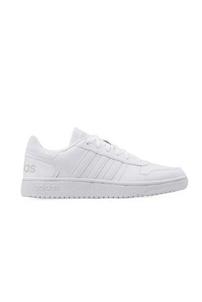 Erkek Beyaz Ayakkabı Db1085 Hoops 2.0
