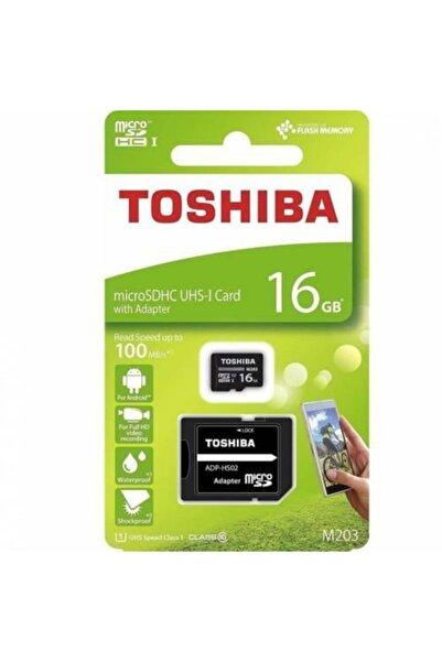 Toshiba 16gb Micro Sdhc Uhs-1 Thn-m203k0160ea Hafıza Kartı