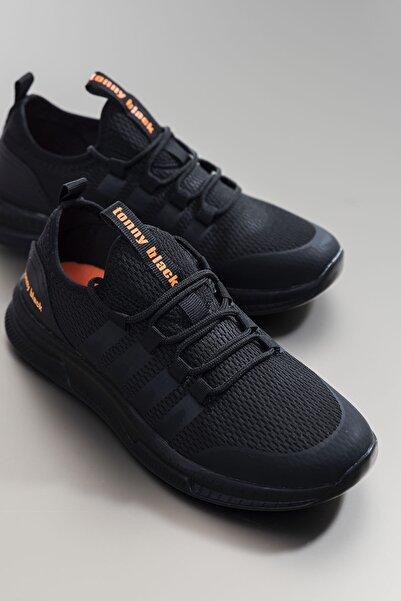 Tonny Black Unısex Siyah Spor Ayakkabı Tbqnt