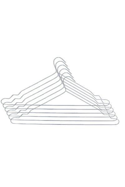Marketonya 24 Adet Metal Elbise Askısı Kıyafet Askısı