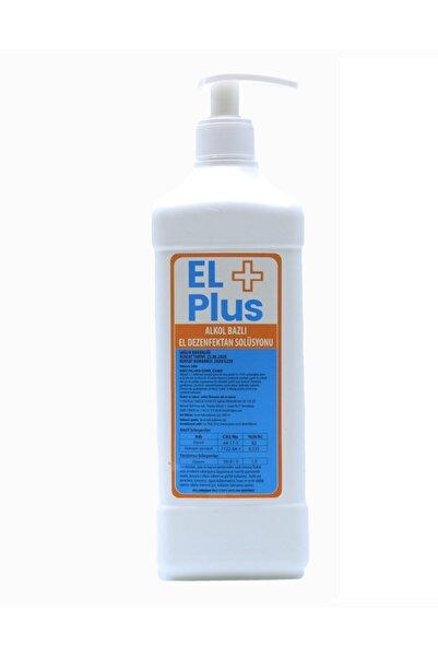 EL PLUS El+ Plus Antiseptik %82 Alkol Bazlı 1 Litre El Ve Cilt Dezenfektan 1 Lt (EKŞİ KOKMAZ)