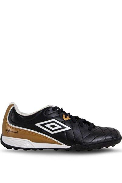 UMBRO Erkek Siyah Bağcıklı Halı Saha Ayakkabısı 80684u-e39