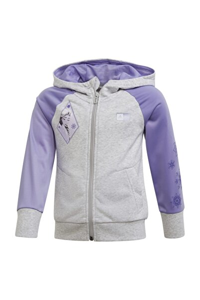 adidas Frozen 2 Cover-up Hoodie Çocuk Sweatshirt