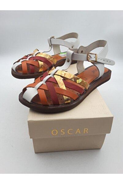 Oscar 67 Multi Içi Dışı Hakiki Deri Sandalet
