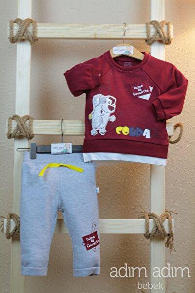 İmaj Erkek Bebek Çocuk Alt Üst Takım Kemik Avcısı 1-1.5-2 Yaş