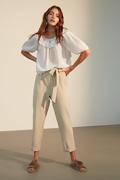 Mudo Kadın Multi Renk Beli Lastikli Havuç Pantolon 1216659