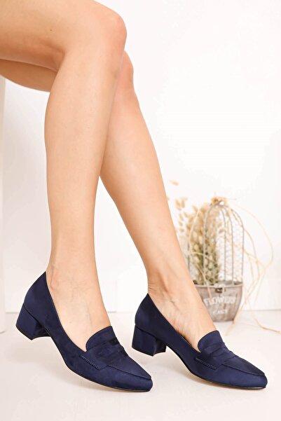 Hayalimdeki Ayakkabı Kadın Lacivert Luna Topuklu Ayakkabı
