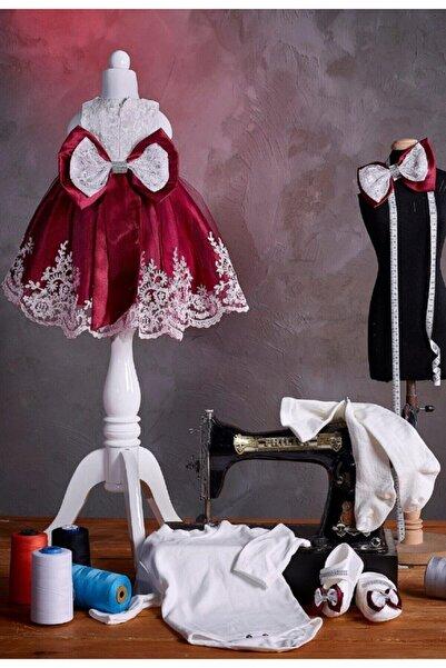 Melekpare Babylia Kız Bebek Mevlüt Takımı Özel Gün Kıyafeti