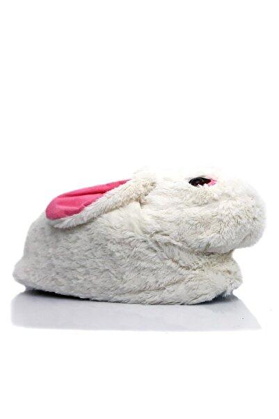 Muya Tavşan Kadın Panduf Peluş Ev Ayakkabısı