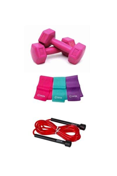 Cosfer Pilates 3 Lü Set