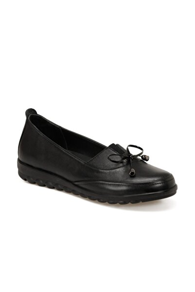 Polaris 5 Nokta Kadın Siyah Comfort Ayakkabı