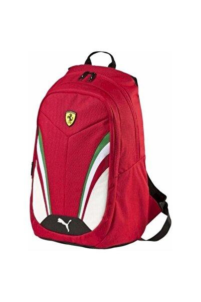 Puma Ferrarı Replıce Backpack Rosso C.(p-07395201)