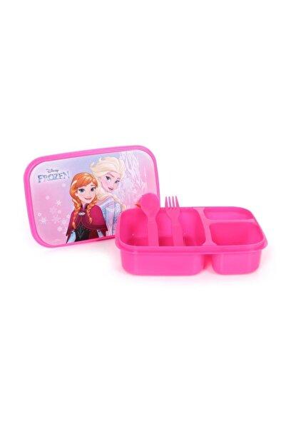 Frozen Elsa Anna Üç Bölmeli Beslenme Seti