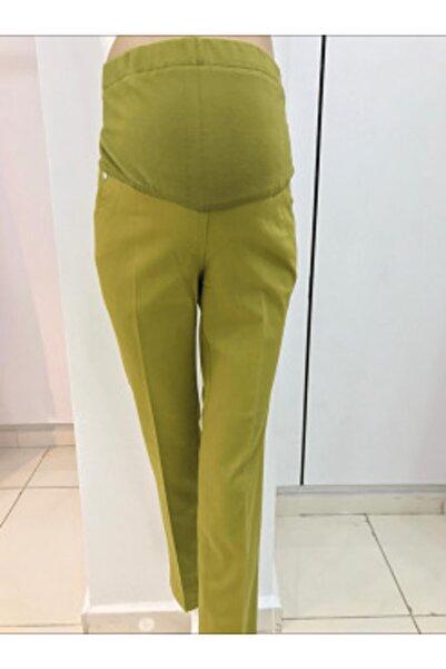 Bien Kadın Yeşil Hamile Pantolon