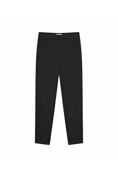 İpekyol Kadın Siyah Fermuar Kapama Pantolon