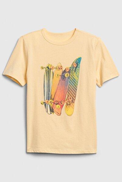 GAP Kids Grafik Kısa Kollu T-Shirt