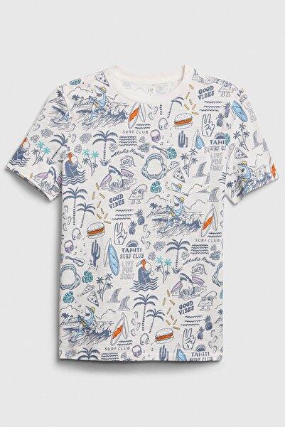 GAP Kids Cepli Kısa Kollu T-Shirt