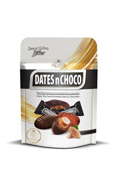 DATESnCHOCO Dates N Choco Bitter Çikolata Kaplı Bademli Hurma 90 gr