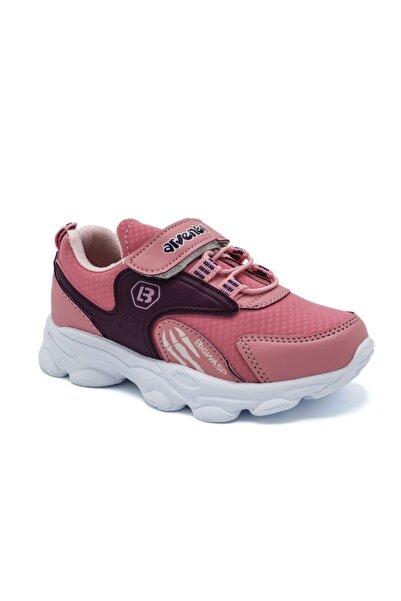 Arvento Unisex Çocuk Pembe Yürüyüş Ayakkabısı