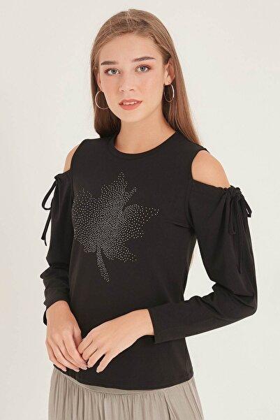 HomeStore Kadın Sıyah Bluz 20250220020