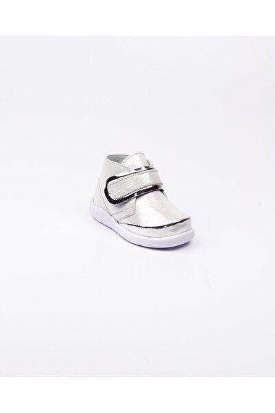 Vicco 915. E20k. 046 Phylon Gümüş Deri Ilkadım Ayakkabısı(19-21) Gümüş-21
