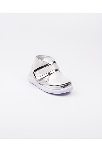 Vicco 915.b20k.046 Phylon Gümüş Deri Kız Bebek Bot(22-25) Gümüş-24