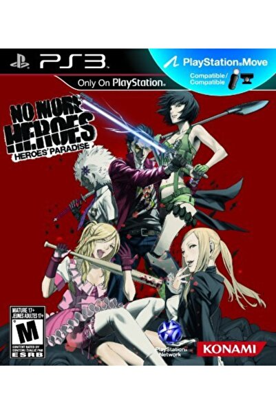 KONAMI No More Heroes Ps3 Oyunu