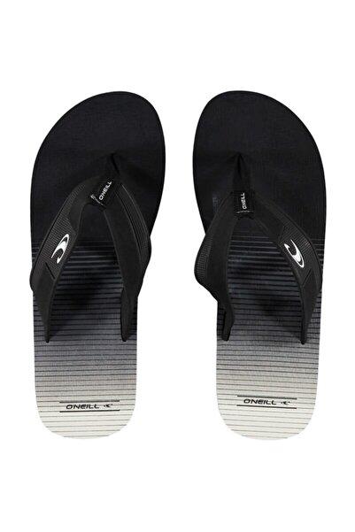 O'Neill Fm Imprint Santa Cruz Flip Flop Black Aop,white 7a4524