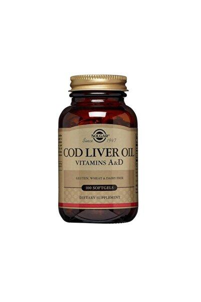 Solgar Cod Liver Oil 100 Softjel Kapsül