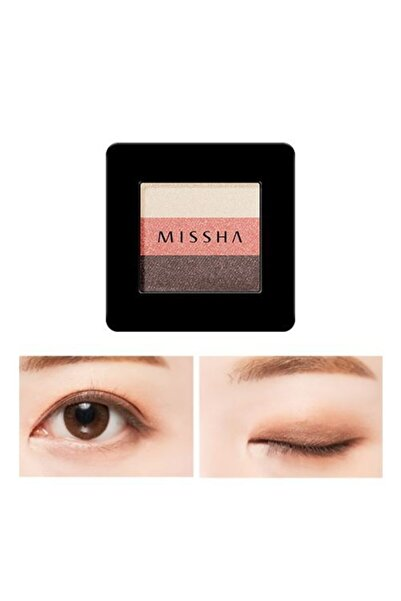 Missha 3 Renkli Far Triple Shadow (no.9/coral Spring) 8809530034460