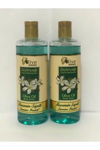 oilive Olive Senses Zeytinyağlı Vücut Şampuanı Yasemin Sepeti 500 Ml 1 Alana 1 Bedava