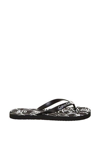 Calvin Klein Unisex Siyah Sandalet