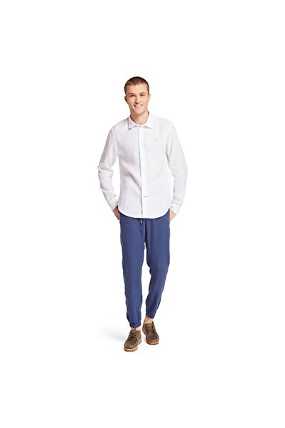 Timberland Ls Mill River Linen A1nw8 100 White