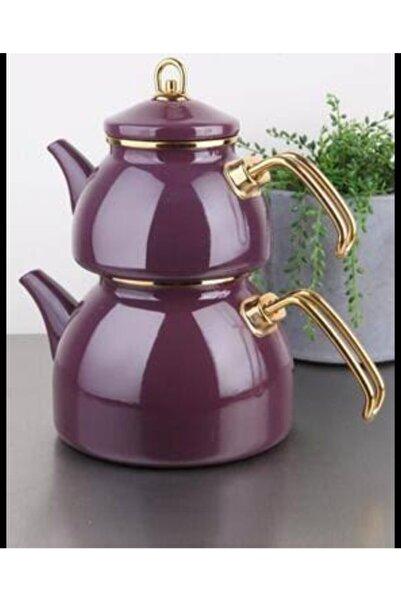 Bondy Emaye Çaydanlık Takımı