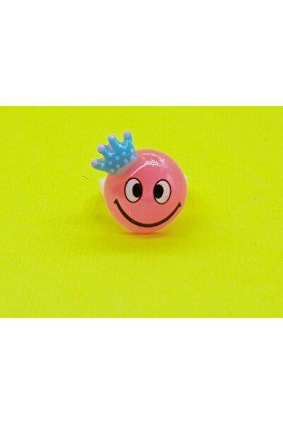 Trendyıldızı Prenses Taçlı Smile Kız Çocuk Yüzüğü