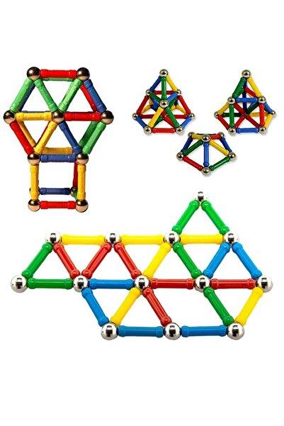 Mobee Manyetik Lego Mıknatıslı Denge Oyun Çubukları 37 Parça