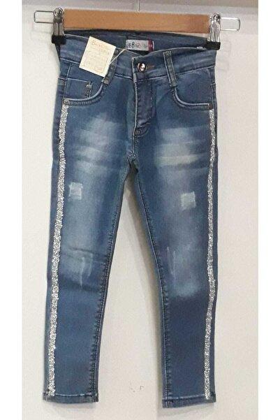 Bella Kız Cocuk Mavi Kot Pantolon