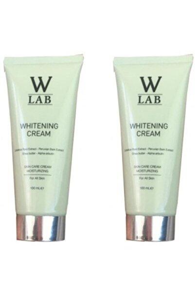 W-Lab Kozmetik Whitening Cream Beyazlatıcı Krem 100 ml 2 Adet