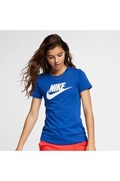 Nike Kadın Mavi T-Shirt