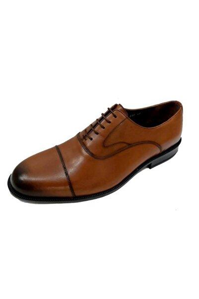 Fosco 6414 Erkek Taba Hakiki Deri Poli Taban Ayakkabı