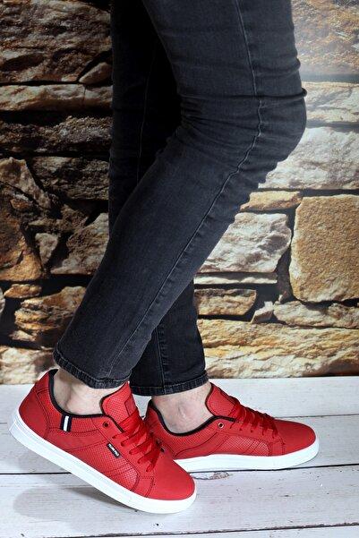 F&p 8110 Kırmızı Günlük Spor Ayakkabı