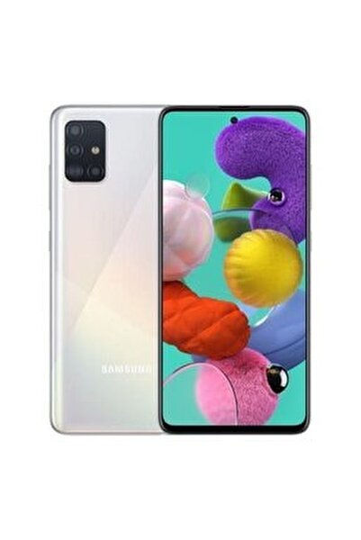 Galaxy A71 128GB Prizma Gümüş Cep Telefonu (Samsung Türkiye Garantili)