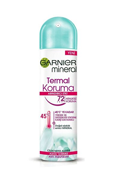 Garnier Mineral Termal Koruma Sprey Deodorant 150 ml