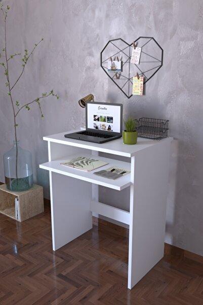Remaks Bilgisayar Pc   Çalışma Laptop Masası - Beyaz