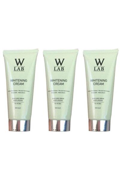 W-Lab Kozmetik W-lab Whitening Cream Beyazlatıcı Krem 100 Ml X 3 Adet