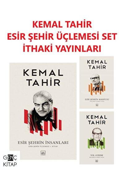 İthaki Yayınları Kemal Tahir Esir Şehir Üçlemesi Kitap Set Esir Şehrin Insanları-esir Şehrin Mahpusu
