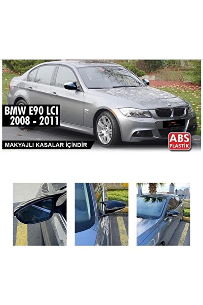 Drs Tuning Bmw E90 Lcı 2008-2011 Batman Yarasa Ayna Kapağı Piano Black Siyah