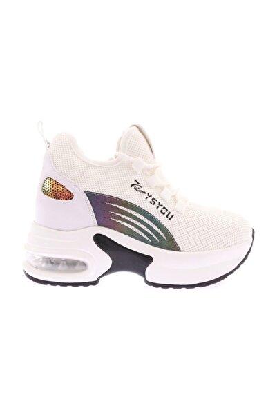 Guja Kadın Kalın Taban Gizli Dolgu Sneaker